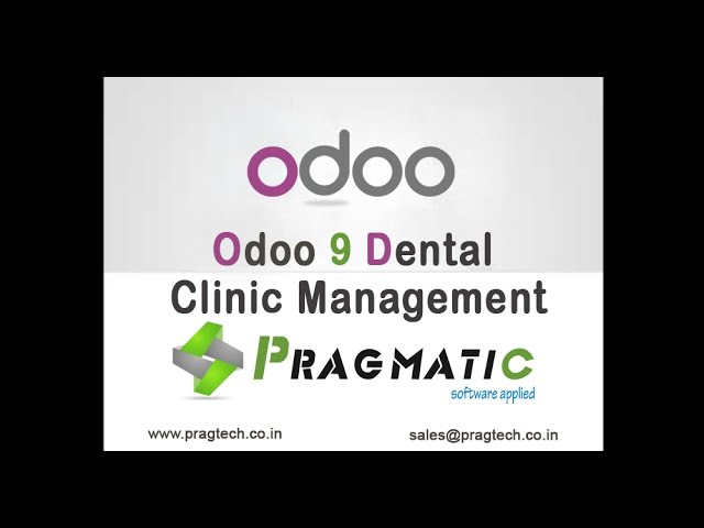 Odoo 9 Dental Management System