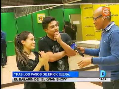 Tras los pasos de Erick Elera: el bailarín de 'El gran show'