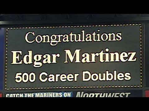 Video: Edgar Martinez collects his 500th double