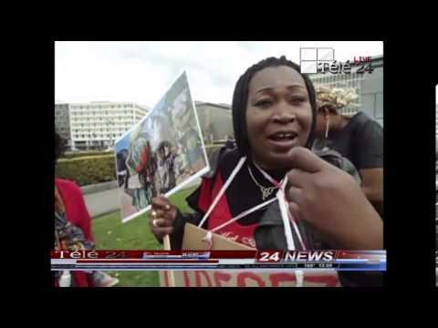 TÉLÉ 24 LIVE: Congolaise de bruxelles, Hollande, France et Allemagne en colèrent, demandent, la candidature de Gecoco Mulumba à l'élection présidentielle de 2016