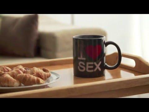 Magic Mug - I ❤ Sex (Black)
