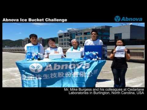 Abnova Ice Bucket Challenge