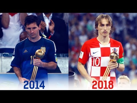 FIFA World Cup Golden Ball Winners (1930-2018)