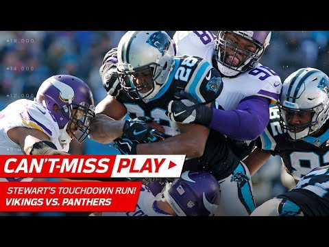 Video: 2 CRAZY CATCHES Set Up Jonathan Stewart's 2nd TD Run! | Can't-Miss Play | NFL Wk 14