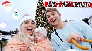 BABY'S FIRST HOLIDAY VACATION! by Aspyn + Parker