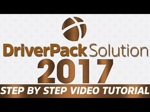 Driverpack Solutions 2017 - Step by Step Tutorial