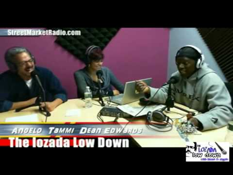 COMEDIAN DEAN EDWARDS AS CHARLIE MURPHY ON THE LOZADA LOWDDOWN