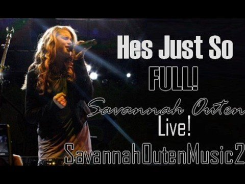 Tekst piosenki Savannah Outen - He's Just So po polsku