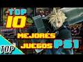 Top 10 - Los mejores juegos de PS1(en mi opinion): por J y el Calabazo