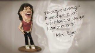 Figura de papel maché de Mick Jagger