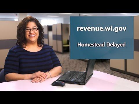 Homestead Credit Claim Delay
