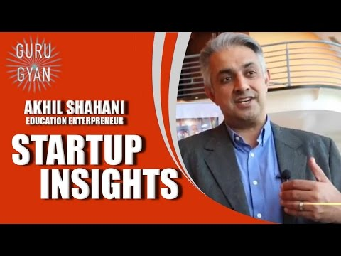 Startup Insights with Akhil Shahani!