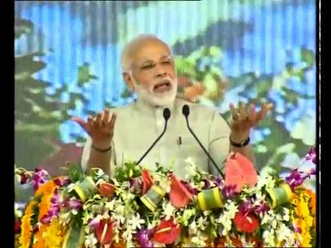PM's speech at the laying Foundation Stone of Greenfield Airport at Rajkot, Gujarat