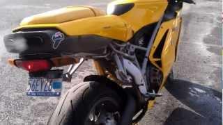 4. 2004 Ducati 749 Testastretta Walkaround