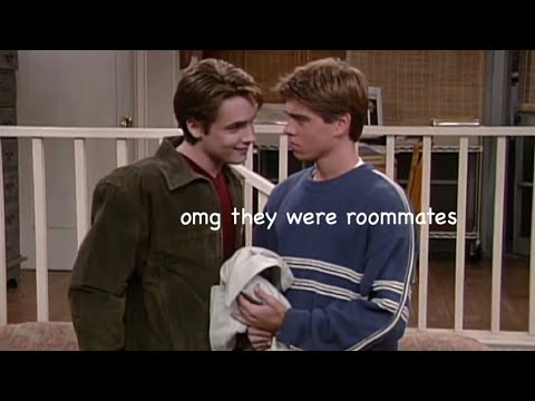jack and eric being the best couple on boy meets world for 9 minutes straight