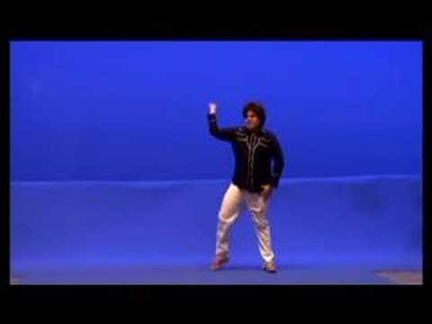 Behind The Big Screen : Superbad Dancing Setup