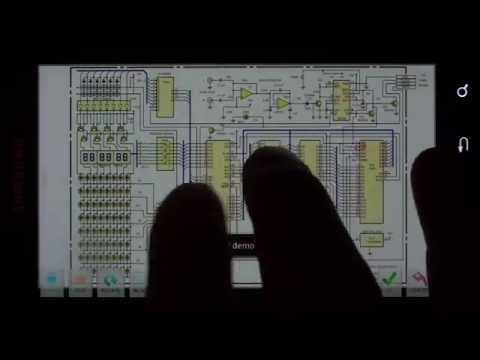 Video of palmDraft Electronics CAD