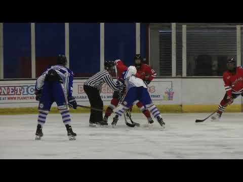 Phantoms v Sreatham Under 18s ice hockey match 9/9/2017