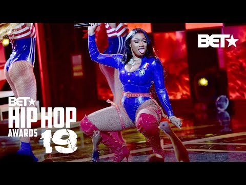 Megan Thee Stallion & DaBaby In Fire Hot Girl Summer & Cash Shit Performance! | Hip Hop Awards '19