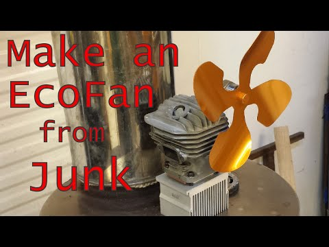 Make a Stove Top EcoFan from Junk