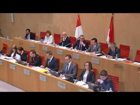 Séance Publique Législative - 1 décembre 2016