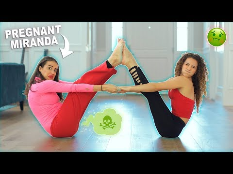 YOGA CHALLENGE WITH PREGNANT MIRANDA SINGS