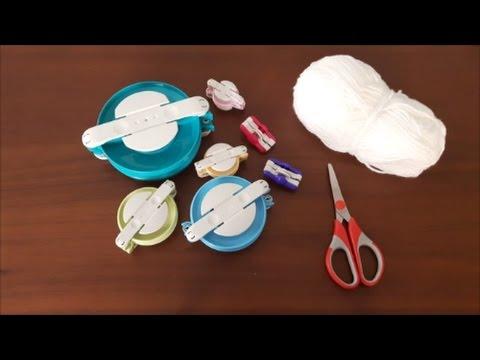 Pompon maken met een Clover Pom-Pom Maker