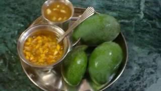 Make this on Ugadi (Telugu New Year) and enjoy  6 tastes in it.ఉగాది పచ్చడి - శడ్రుచుల సమ్మేళనం
