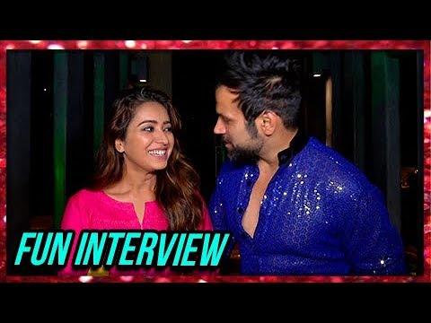 Asha Negi And Rithvik Dhanjani Fun Interview