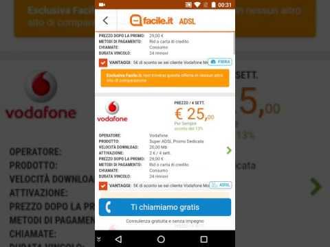 Confronto offerte internet casa tutti i gestori Tim Vodafone Wind Fastweb Linkem Giugno 2017