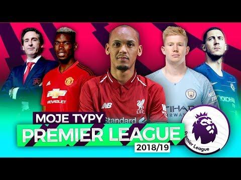Moje Typy Premier League 2018/19!