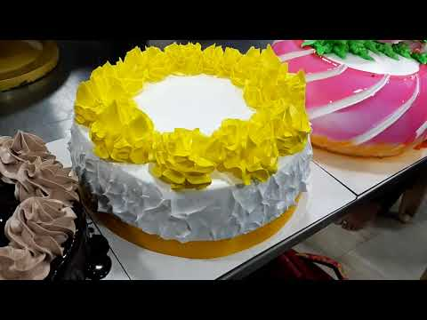 Whipped Cream Cake Decoration Class,by Omsai Cooking Classes,9325294757 For Online Classes