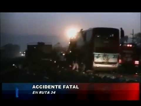 ACCIDENTE – Ruta 34 Rafaela