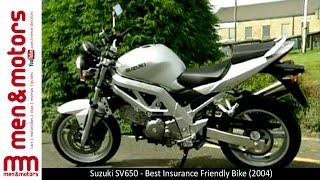 9. Suzuki SV650 - Best Insurance Friendly Bike (2004)