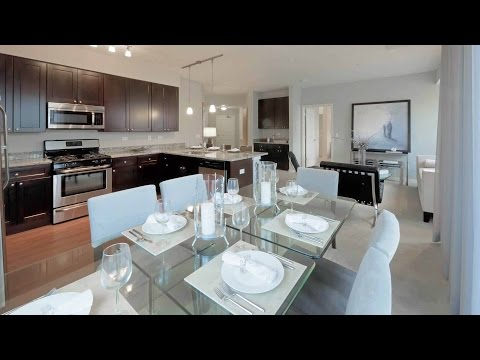 Tour a luxury 2-bedroom, 2-bath apartment at the new Oaks of Vernon Hills