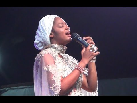 Ooni Of Ife Stands Up As His Beautiful Wife Prays & Sings At Her Show Inside The Palace