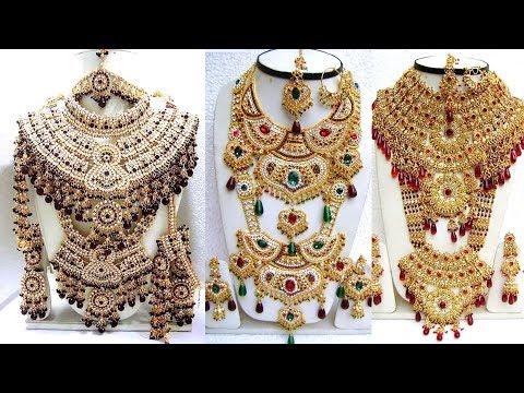 Heavy Bridal Jewellery Sets | Heavy Kundan Jewellery Sets | Heavy Necklace Sets