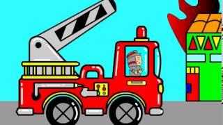 Animasi Pemadam Kebakaran