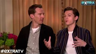 Video Benedict Cumberbatch Tries to Keep Tom Holland from Giving 'Avengers: Infinity War' Spoilers MP3, 3GP, MP4, WEBM, AVI, FLV Juli 2018