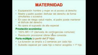 Umh1909 2012-13 Lec004 Subsidio Por Maternidad (1/3)