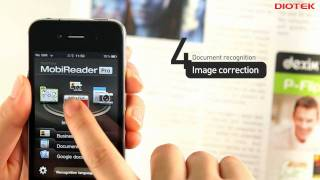 MobiReader BizCard & Docu OCR YouTube video