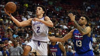 Lonzo Ball Goes Off! 36 Points Vs Sixers in NBA Las Vegas Summer League (Full Highlights) | July 12