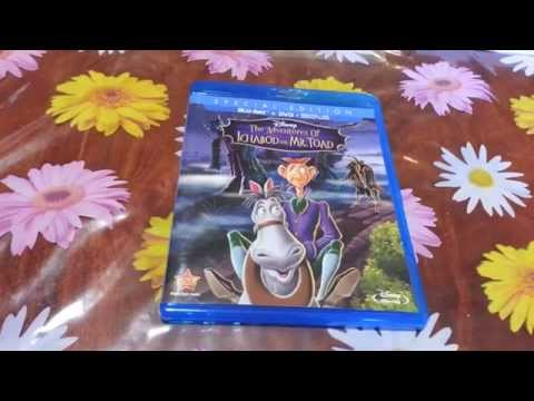 The Adventures Of Ichabod And Mr. Toad Blu-ray Unboxing