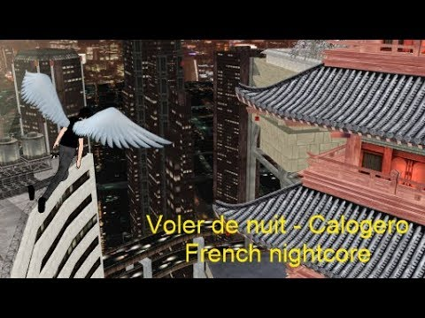 Voler De Nuit - Calogero French Nightcore