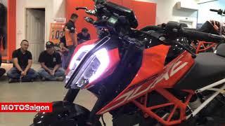 9. KTM 390 Duke 2018 đầu tiên Việt Nam giá bán chính hãng