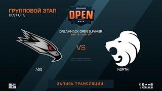 AGO vs North - DreamHack Open Summer - map2 - de_train [Donald]