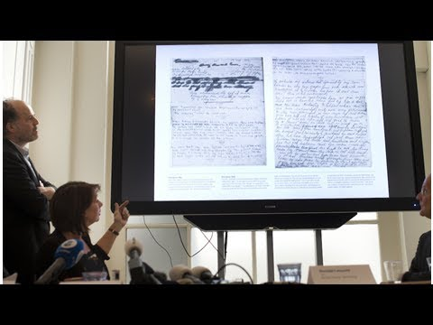 Researchers Decipher Two Hidden Pages of Anne Frank's Diary