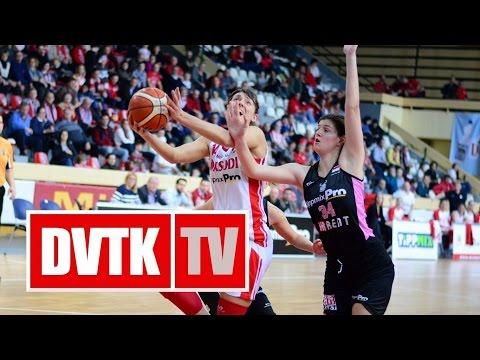 Női Kosárlabda NB I. A-csoport 19. forduló.  Aluinvent DVTK - PINKK-Pécsi 424
