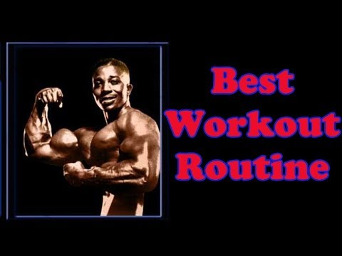 Best Workout Routine – Bodybuilding Tips To Get Big
