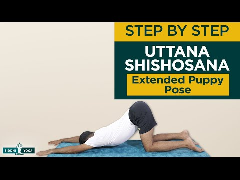 Uttana Shishosana (Extended Puppy Pose)